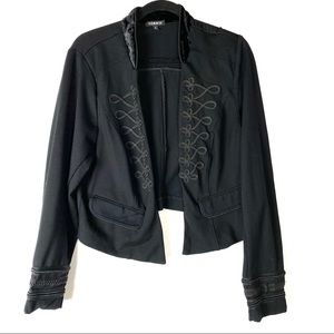 Torrid Embroidered Cropped Jacket Size 2X